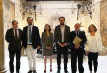 El alcalde de Palma, Antoni Noguera, se ha reunido con el presidente de ASIMA (Asociación de Industriales de Mallorca), Francisco Martorell Esteban, para avanzar en la obtención del distintivo de calidad para los polígonos industriales de Son Castelló y Can Valero.